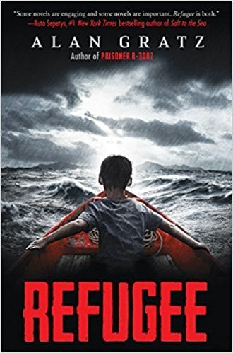 Book cover for Refugee as an example of social justice books for kids