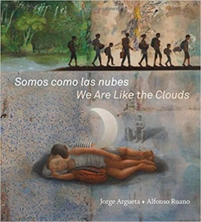 Book cover for Somos como las nubes / We Are Like the Clouds as an example of social justice books for kids
