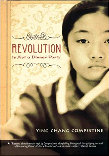 Revolution is Not a Dinner Party book cover--middle school books