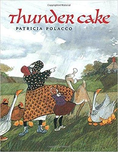 Book cover for Thunder Cake