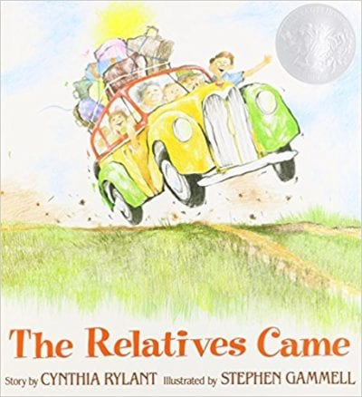 Book cover for The Relatives Came