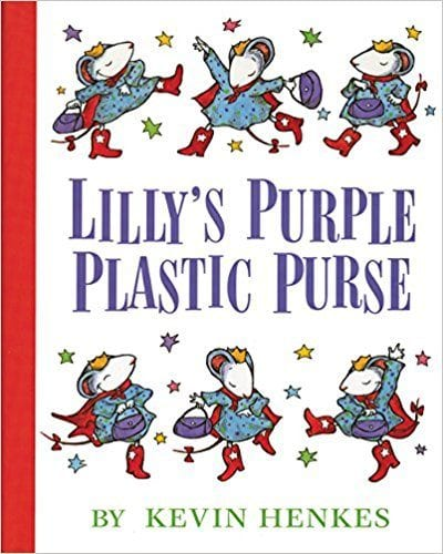 Book cover for Lilly's Purple Plastic Purse as an example of children's books to teach social skills