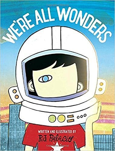 Book cover for We're All Wonders