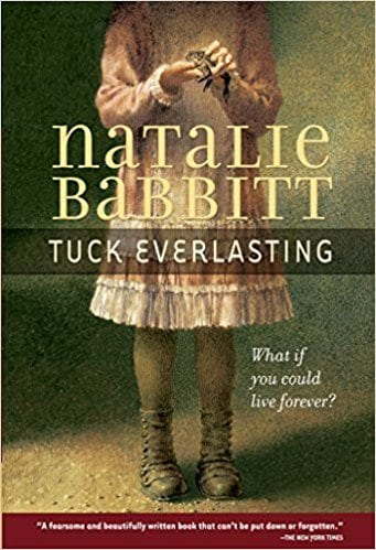 Tuck Everlasting book cover--middle school books