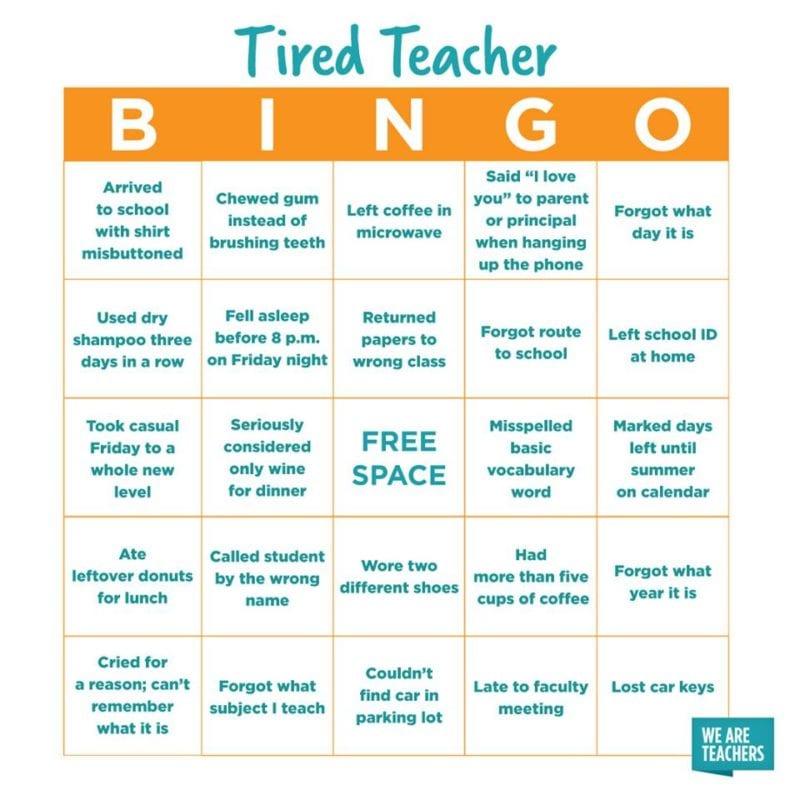 Bingo for Teachers