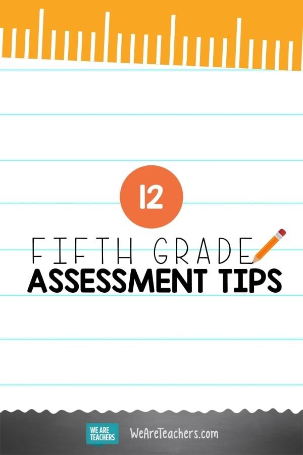12 Amazing Fifth Grade Assessment Ideas