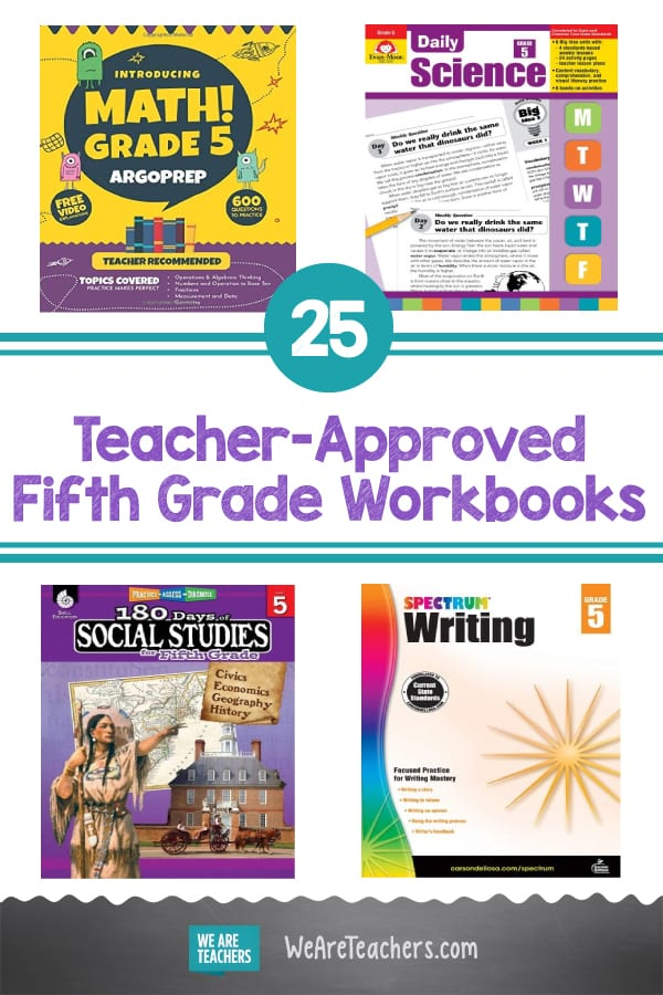 25 Teacher-Approved Fifth Grade Workbooks