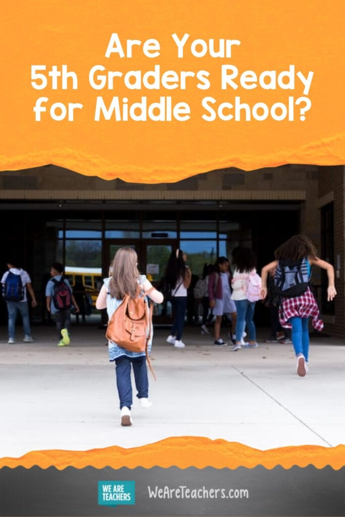 Are Your 5th Graders Ready for Middle School?