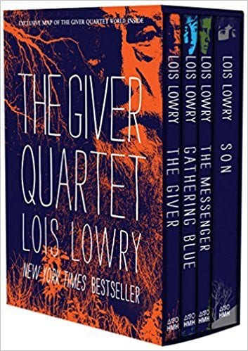The Giver Quartet book cover--middle school books