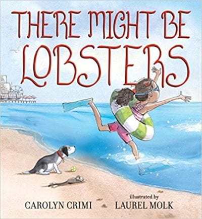 Book cover for There Might Be Lobsters as an example of children's books that teach social skills