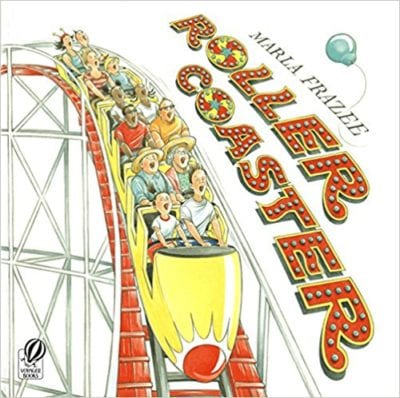 Book cover for Roller Coaster as an example of mentor texts for narrative writing