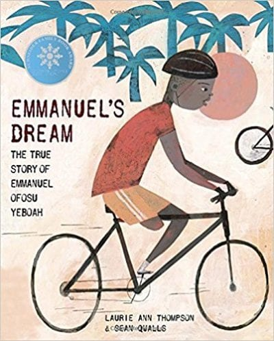 Book cover for Emmanuel's Dream: The True Story of Emmanuel Ofosu Yeboah