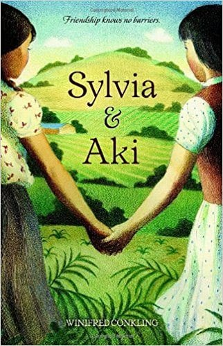 Book cover for Sylvia & Aki as an example of social justice books for kids