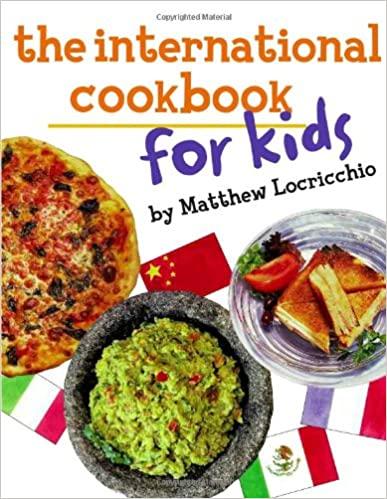 International cookbook for kids
