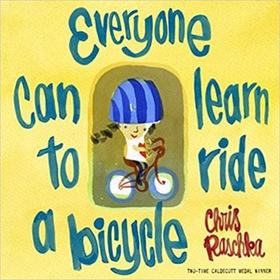 Book cover for Everyone Can Learn to Ride a Bicycle as an example of children's books that teach social skills