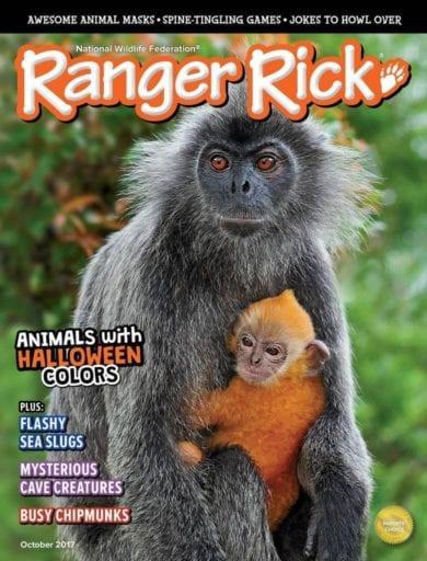 Sample issue of Ranger Rick magazine
