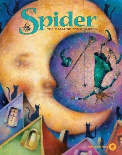 Sample issue of Spider magazine