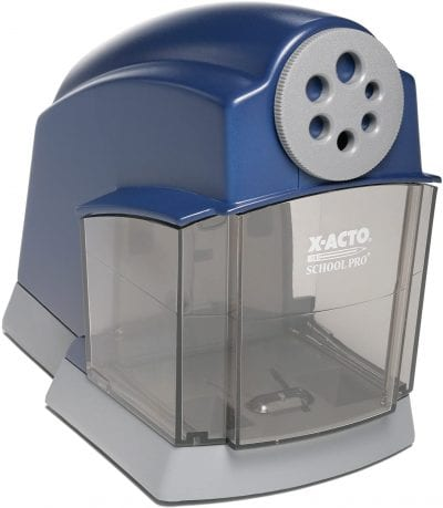 Electric pencil sharpener for classroom