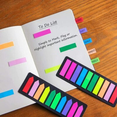 Thin sticky notes are versatile and fun!