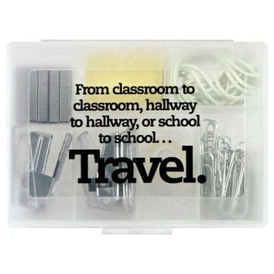 Office Supplies Teacher Gift Idea