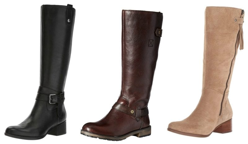 Naturalizer boots in several styles and colors (Teacher Shoes)
