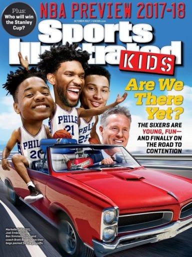 Sample issue of Sports Illustrated Kids magazine
