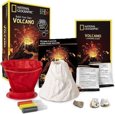 kit scientifique du volcan