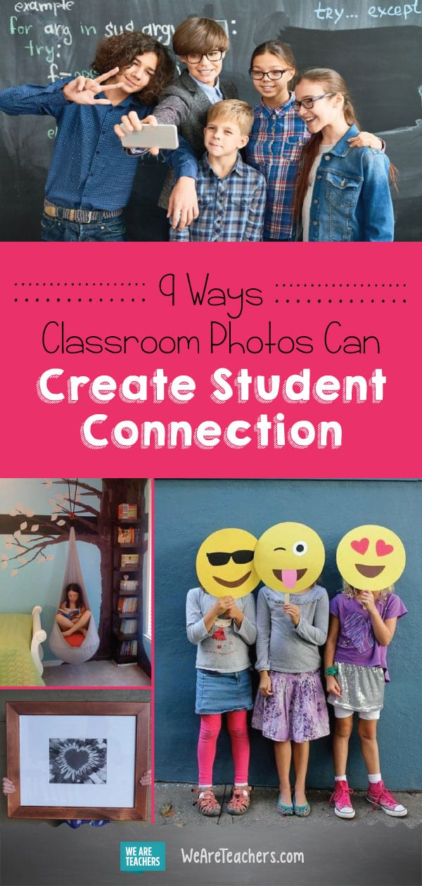 9 Ways Classroom Photos Can Create Student Connection