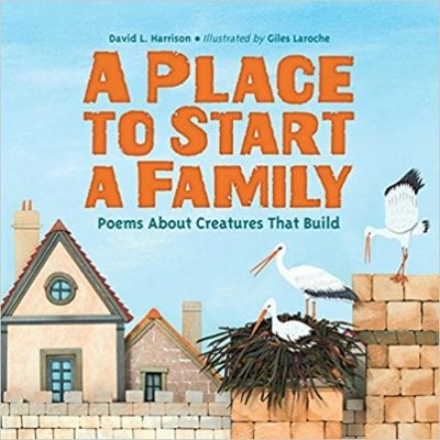 Book Cover for A Place to Start a Family: Poems About Creatures that Build