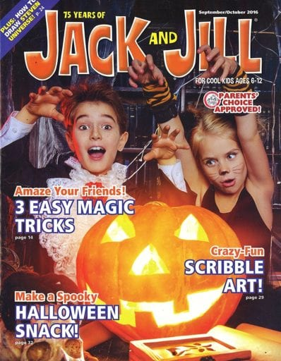 Sample issue of Jack and Jill magazine