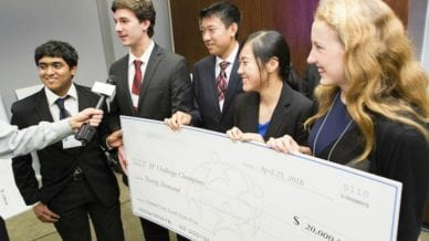 MathWorks Math Modeling Challenge for High Schoolers Ties to Real Life.