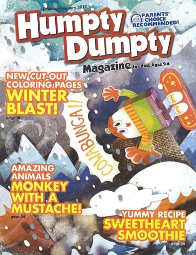 Sample issue of Humpty Dumpty magazine