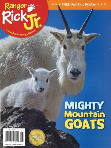 Sample issue of Ranger Rick Jr. magazine