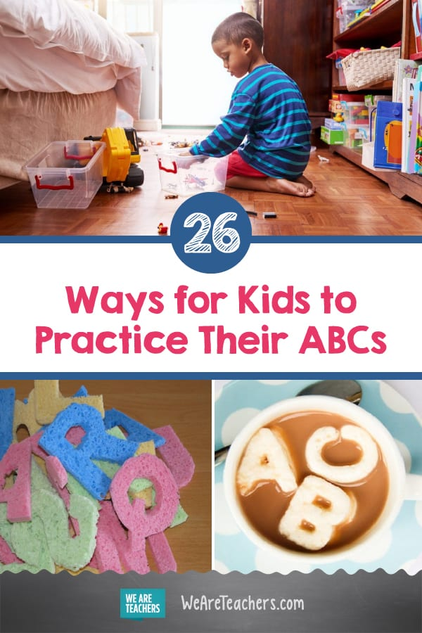 26 Fun, Easy Ways for Kids to Practice Their ABCs