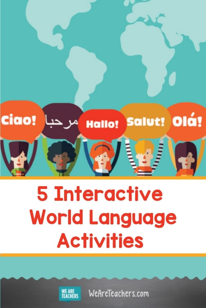 5 Interactive World Language Activities for Remote and Socially-Distanced Classrooms
