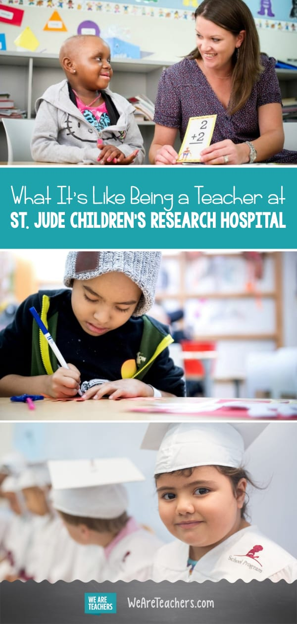 What It's Like Being a Teacher at St. Jude Children's Research Hospital