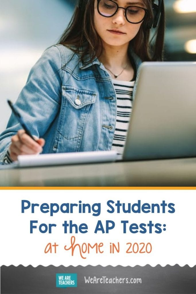 Preparing Students For the AP Tests: At Home in 2020