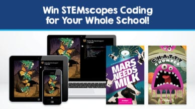 Image of STEMscopes coding program prize