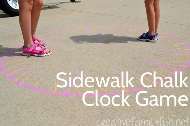 Active Math Games Giant Clock