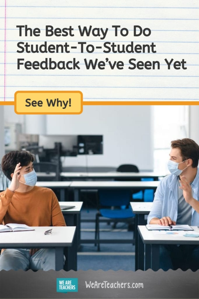 The Best Way To Do Student-To-Student Feedback We've Seen Yet