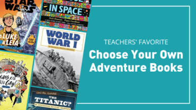 Teachers' favorite choose your own adventure books.