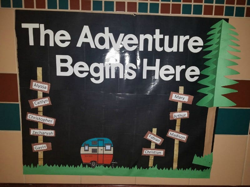Adventure Bulletin Board
