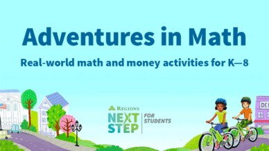 Image of Adventures in Math, Real-world math and money activities for K—8