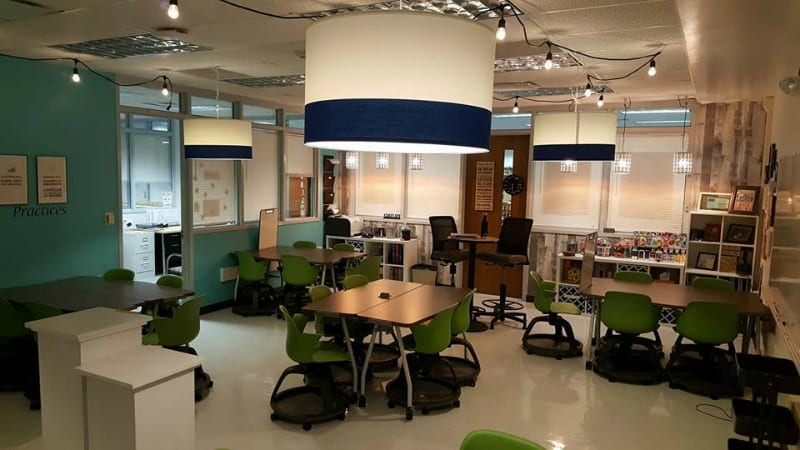 How One Teacher Got a Serious Classroom Upgrade