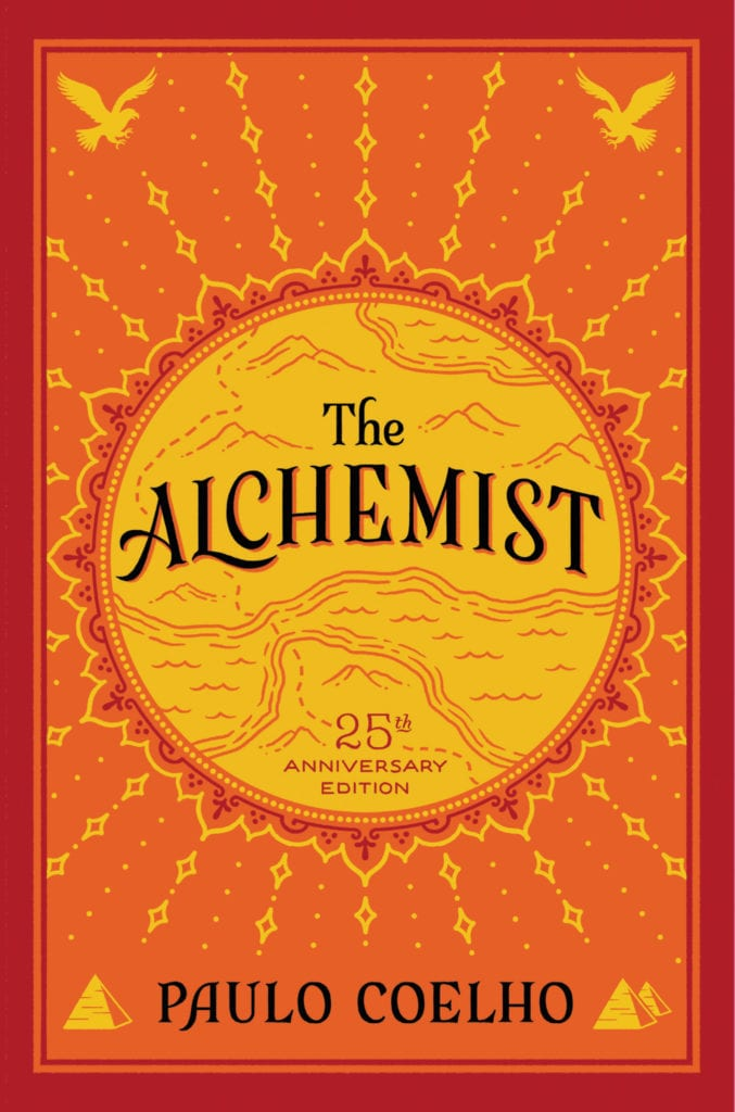 Book Cover: The Alchemist - High School Literature
