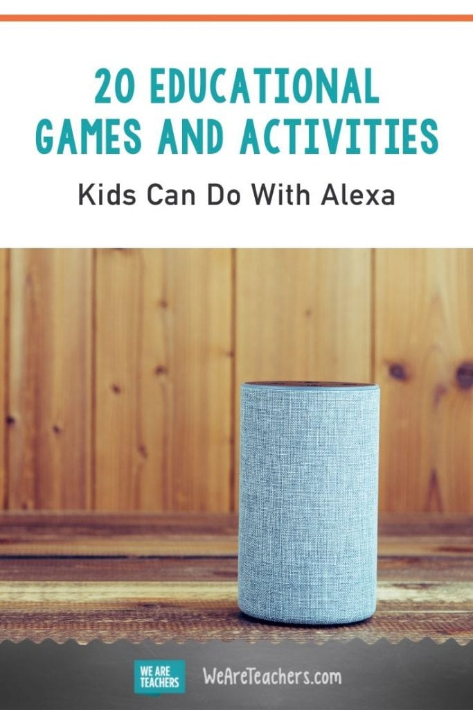 20 Educational Games and Activities Kids Can Do With Alexa