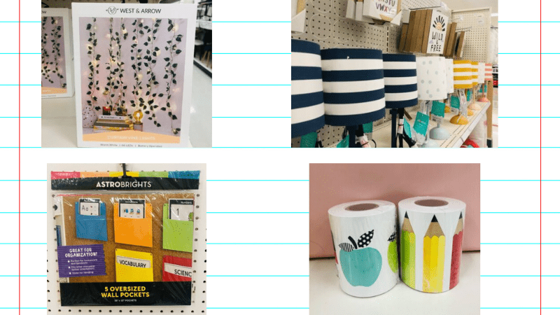 All The Best Classroom Decorations From Target