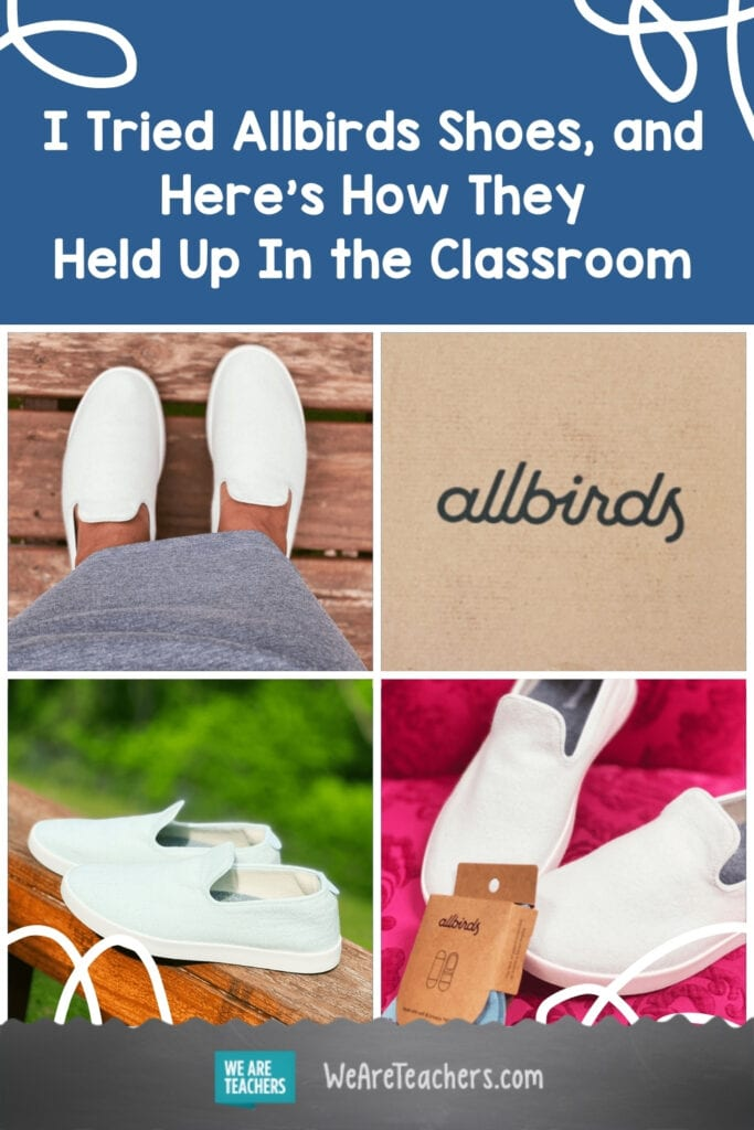 I Tried Allbirds Shoes, and Here's How They Held Up In the Classroom