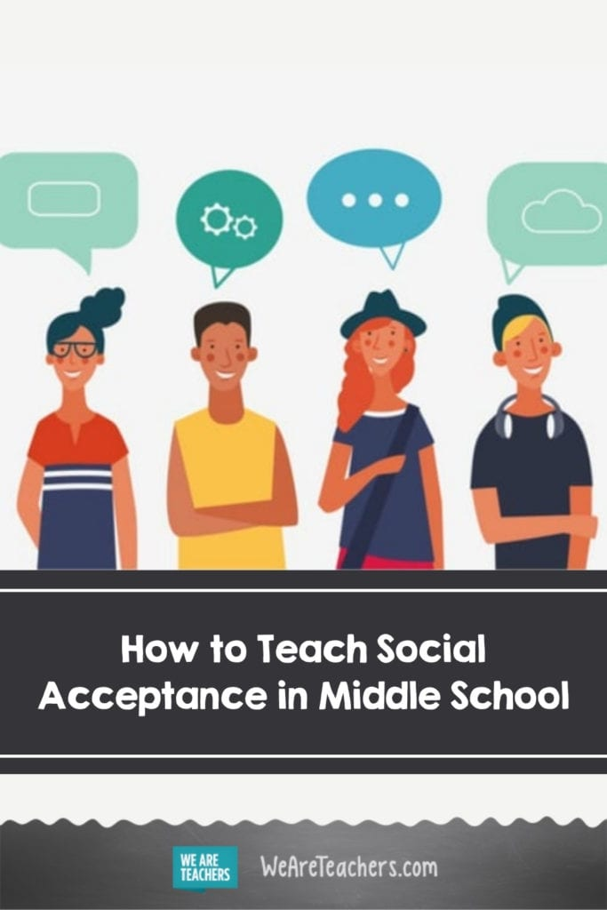 Teaching Social Acceptance in Middle School