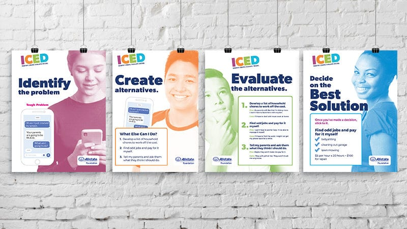 Use These Free Decision Making Posters to Help Guide Teens